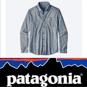 Mens Patagonia Organic Cotton Button Down Flannel